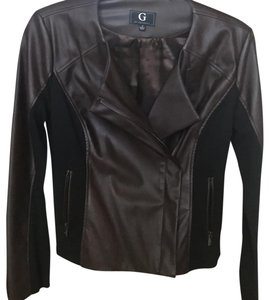 G by Giuliana brown Leather Jacket