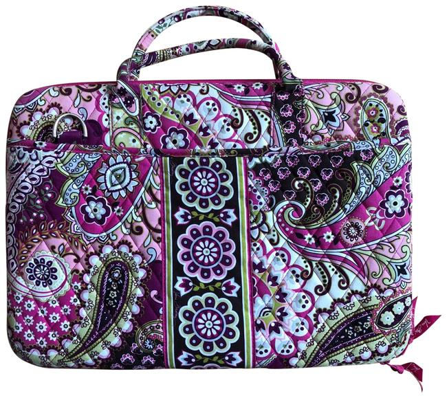 Item - Shell Carrying Case Pink/Purple Fabric Laptop Bag