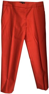 Salvatore Ferragamo Capri/Cropped Pants Orange