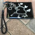 Jonathan Adler Cosmetic Pouches Small Suze Medium Size Large Size Black Clutch Image 5