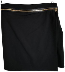 Salvatore Ferragamo Mini Skirt Black