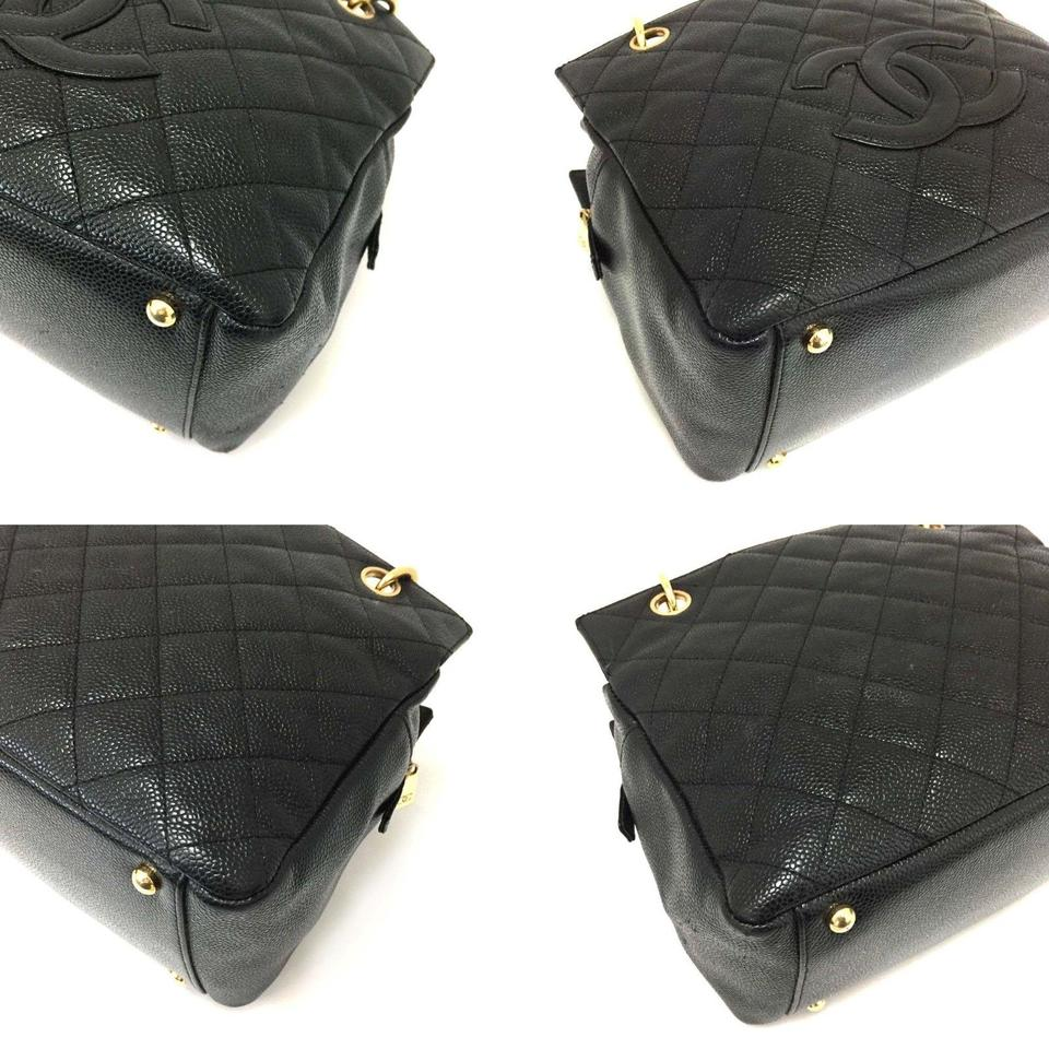 f88f23133f50 Chanel Tote Near New Petite Timeless Quilted Matelasse Cc Logo Caviar 5785  Black Leather Shoulder Bag - Tradesy