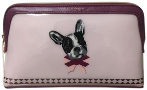 Ted Baker dusty-pink-london-cotton-dog-print-makeup-cosmetic-bag