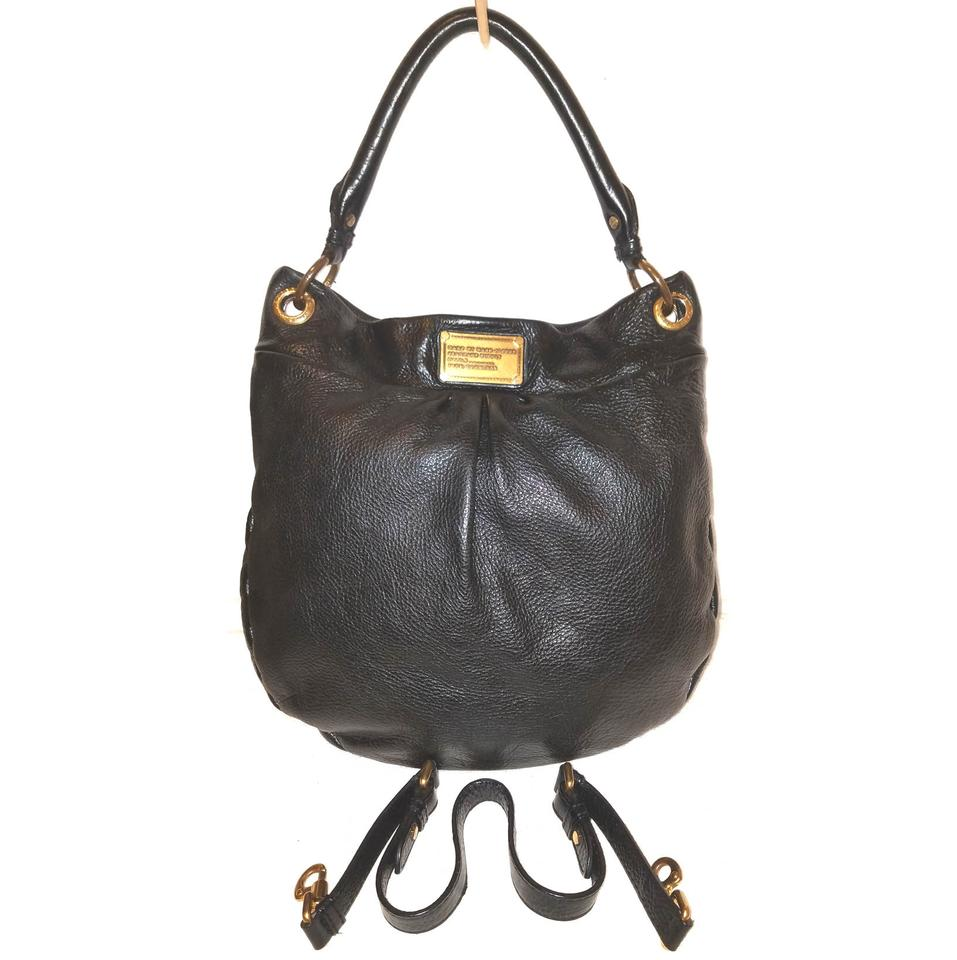 19165f6a937a Marc Jacobs Refurbished Black Leather Lined Large Cross Body Bag Image 0 ...