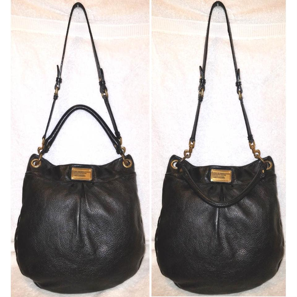 978ca0c4acaa Marc Jacobs Refurbished Black Leather Lined Large Cross Body Bag Image 5.  123456