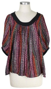 Plenty by Tracy Reese Top multi-color
