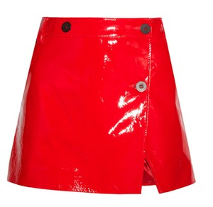 Topshop Mini Skirt Red New with tags
