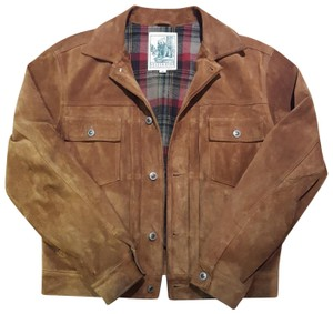 Golden Bear Rum leather soft seude Leather Jacket