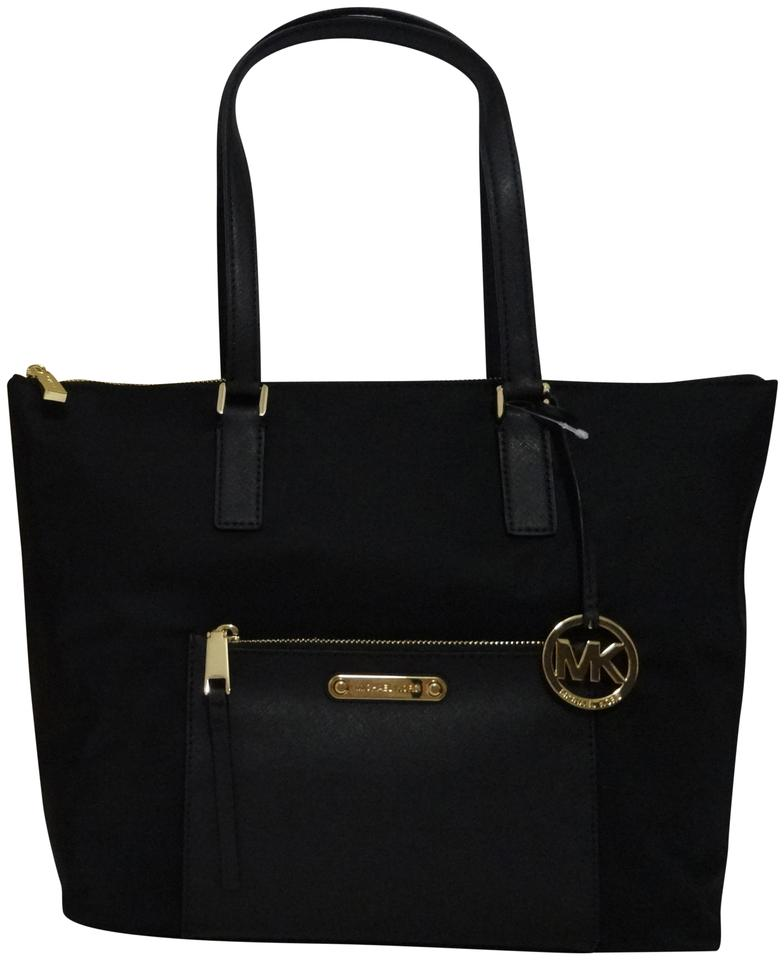 f059ae060b07 Michael Kors New with Ariana Large Tote. Msrp  Black Nylon Shoulder ...