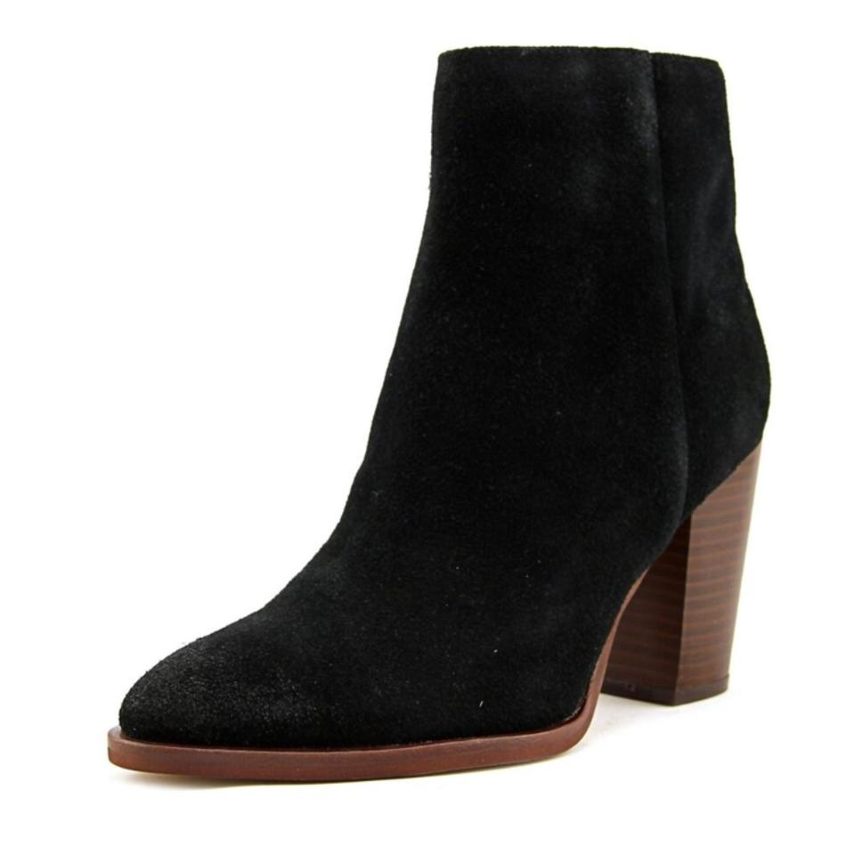 652e65dc5 Sam Edelman Black Blake Suede Ankle Boots Booties Size US 5 Regular ...