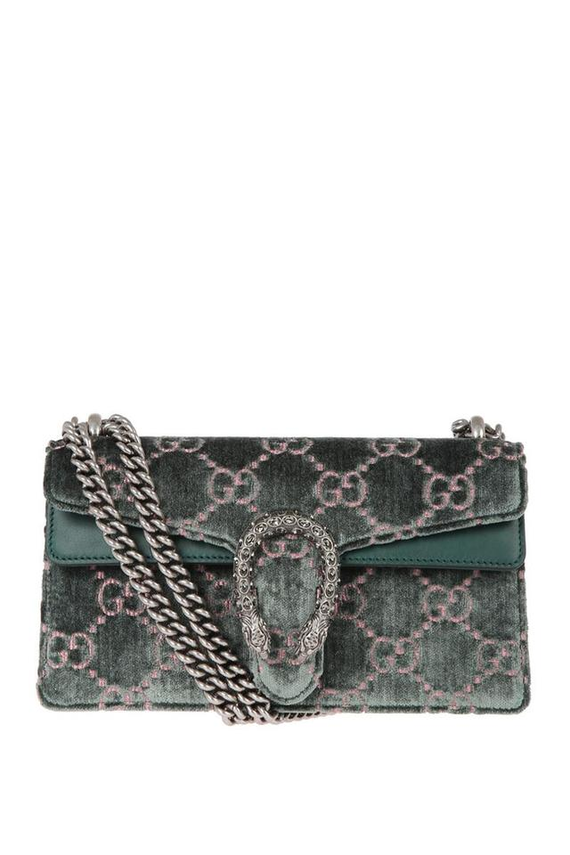 f2fe4474040 Gucci Marmont Dionysus Gg Small Blue Velvet Shoulder Bag - Tradesy