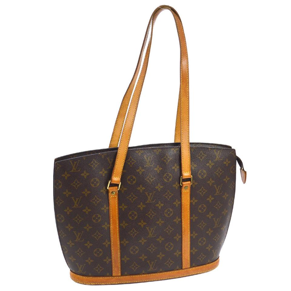 4c58ab07189d Louis Vuitton Babylone Brown Monogram Canvas Tote - Tradesy
