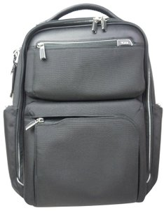 c6bf1f252 Tumi Arrive Bradley Laptop 255012d2 Black Nylon and Leather Backpack ...