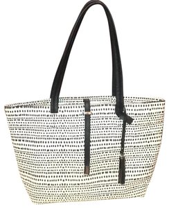 Vince Camuto Tote in Black and White