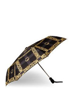 Moschino Moschino Automatic Umbrella with Tags and Sleeve
