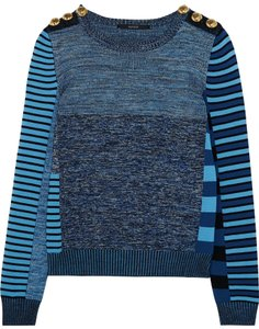 Gucci Wool Hardware Guccissima Patchwork Longsleeve Sweater