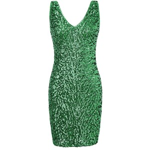 Pretty Rebellious Sequin Party Patrick's Day Costume Halloween Dress