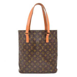 Louis Vuitton Neverfull Sac Plat Luco Babylone Sac Weekend Tote in Brown