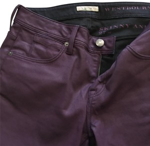 Burberry Skinny Jeans-Coated