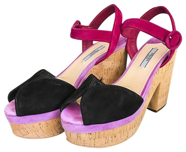 Item - Multi-color Suede Fragolla Palissa Wedges Platforms Size EU 39 (Approx. US 9) Regular (M, B)