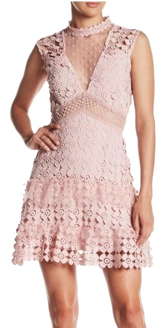 Item - Dusty Pink Mid-length Cocktail Dress Size 4 (S)