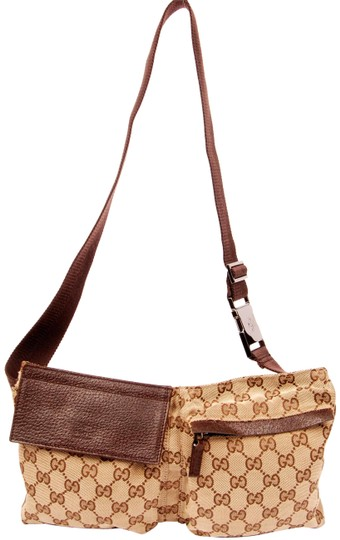 Preload https://item4.tradesy.com/images/gucci-webby-gg-fanny-pack-5780-brown-canvas-weekendtravel-bag-23101438-0-1.jpg?width=440&height=440
