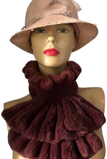 Preload https://item5.tradesy.com/images/deep-magenta-fur-purchased-a-boutique-in-scarfwrap-23101449-0-1.jpg?width=440&height=440