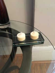 Glass Candle Holder Decoration