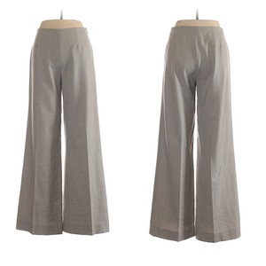 Ralph Lauren Black Label Wide Leg Pants gray