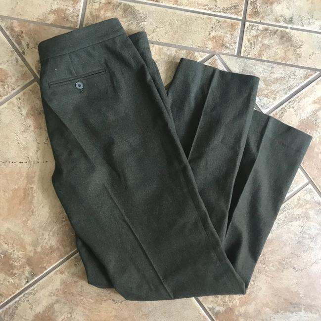 Ralph Lauren Black Label Wide Leg Pants dark green