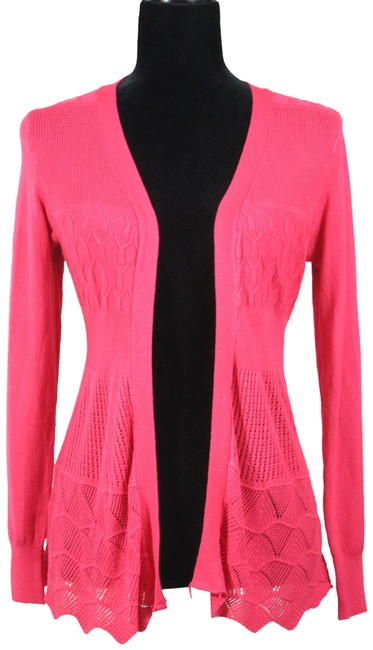 Preload https://item3.tradesy.com/images/debut-fushia-cardigan-size-6-s-23101707-0-1.jpg?width=400&height=650