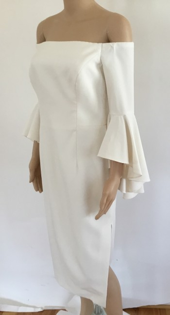 MILLY short dress Ivory Selena Bell Sleeves Off The Shoulder Sexy Store Display Item on Tradesy