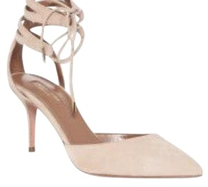 Aquazzura Beige Pumps
