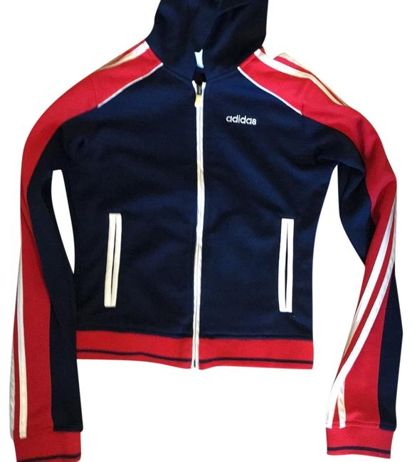 Item - Red White and Blue Sports Sweatshirt/Hoodie Size Petite 4 (S)