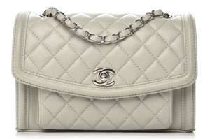 Chanel Box Card Care Booklet Dust Cover Cross Body Bag