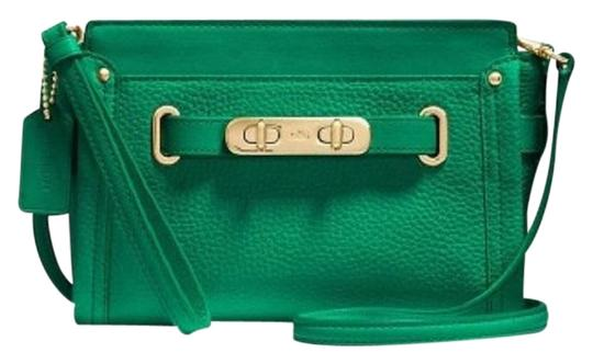 Preload https://img-static.tradesy.com/item/23101930/coach-swagger-53032-green-leather-satchel-0-1-540-540.jpg