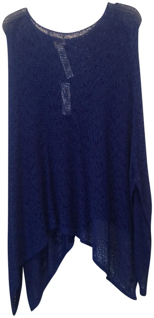 Preload https://item2.tradesy.com/images/royal-blue-ponchocape-size-os-one-size-23102006-0-1.jpg?width=400&height=650