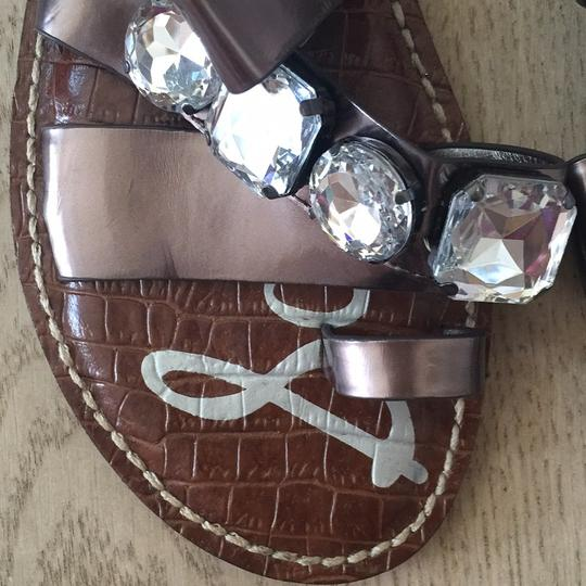 Sam Edelman pewter Sandals