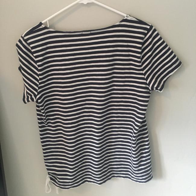 J.Crew Top blue/white