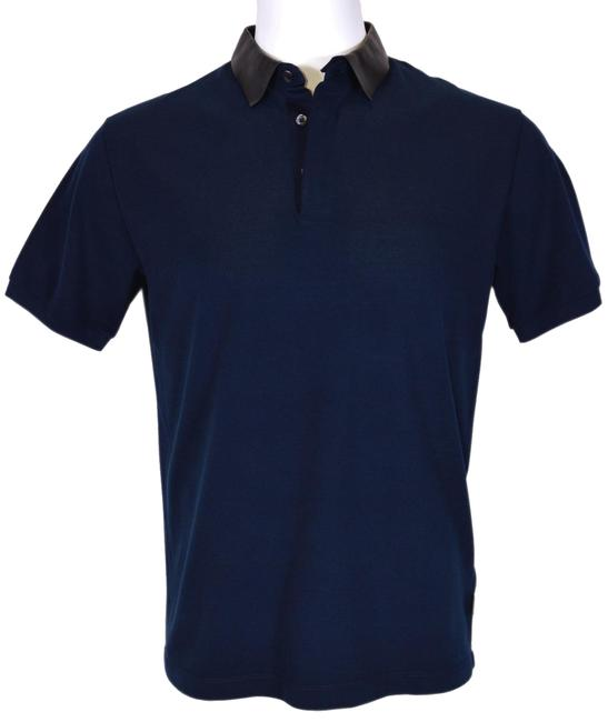 Preload https://item3.tradesy.com/images/gucci-navy-new-men-s-369226-blue-cotton-detachable-leather-collar-slim-l-button-down-top-size-14-l-23102362-0-1.jpg?width=400&height=650