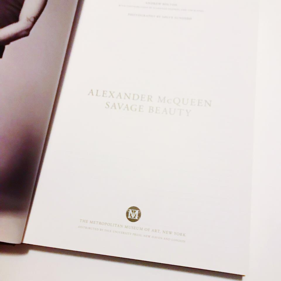 Alexander Mcqueen Savage Beauty Coffee Table Book 12345