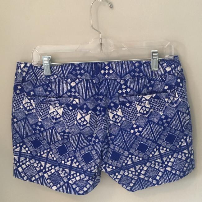 American Eagle Outfitters Dress Shorts blue/white