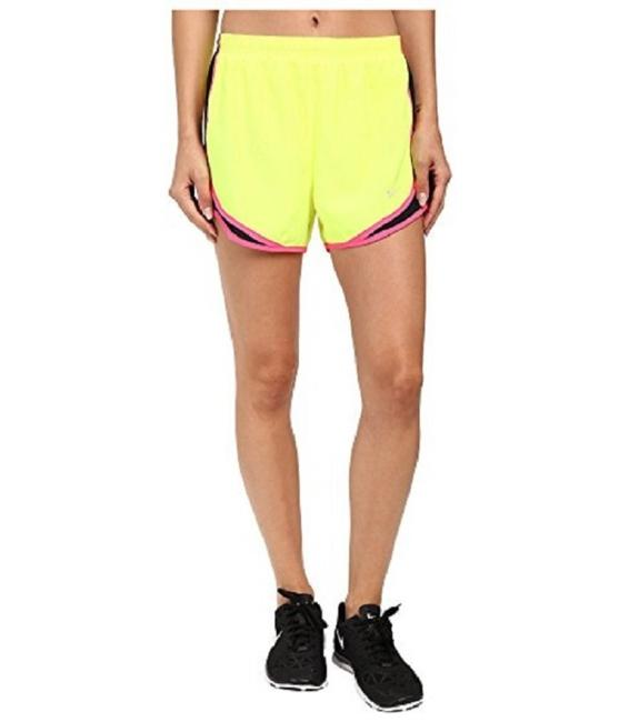 Preload https://item4.tradesy.com/images/nike-yellow-pink-women-s-dri-fit-tempo-running-624278-711-activewear-shorts-size-2-xs-26-23102383-0-0.jpg?width=400&height=650