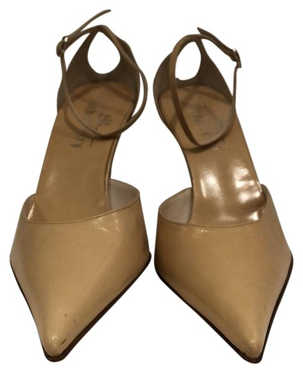 Michel Perry Nude Pumps