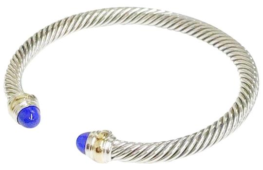 Preload https://img-static.tradesy.com/item/23102411/david-yurman-never-worn-lapis-lazuli-14k-and-sterling-silver-cable-bangle-bracelet-0-1-540-540.jpg
