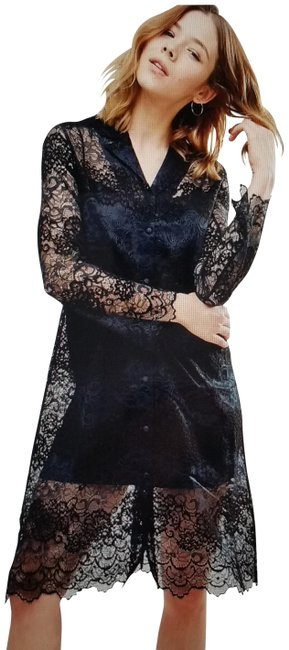 Preload https://item2.tradesy.com/images/ganni-blackdark-navy-without-lining-mid-length-cocktail-dress-size-6-s-23102416-0-1.jpg?width=400&height=650