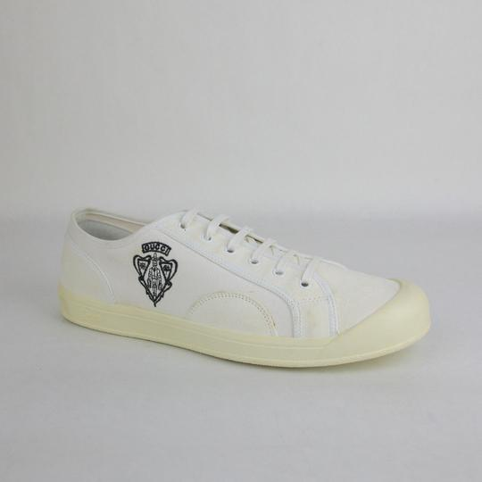 Preload https://item5.tradesy.com/images/gucci-white-hysteria-suedecanvas-sneaker-whysteria-crest-detail-115g-190268-9060-shoes-23102434-0-0.jpg?width=440&height=440