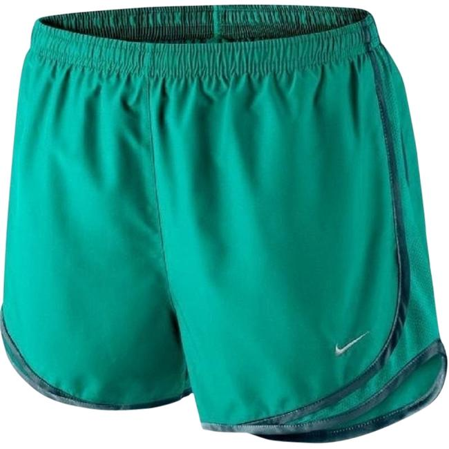 Preload https://item3.tradesy.com/images/nike-teal-women-s-dri-fit-tempo-running-624278-356-activewear-shorts-size-2-xs-26-23102437-0-1.jpg?width=400&height=650