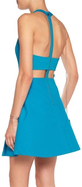Preload https://item5.tradesy.com/images/alice-olivia-teal-blue-and-t-back-mid-length-cocktail-dress-size-os-23102654-0-2.jpg?width=400&height=650