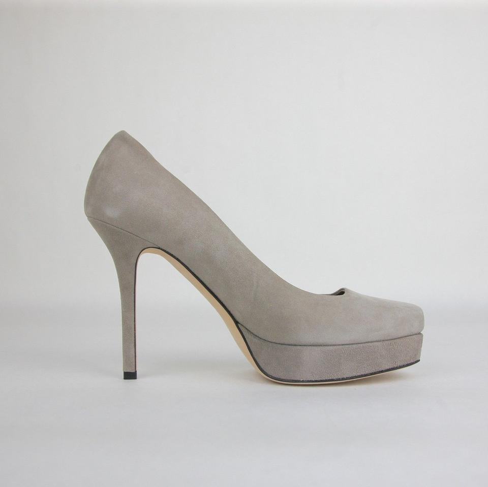 5f3bc74ab9cad Gucci Gray Women s Suede Heel It   8 247165 1513 Platforms Size EU ...